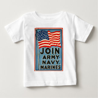 Join Army, Navy, Marines WPA 1917 T-shirts