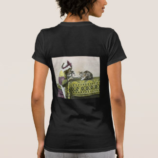 Join me for Tea Kitty Vintage Victorian Tea Party Tee Shirt
