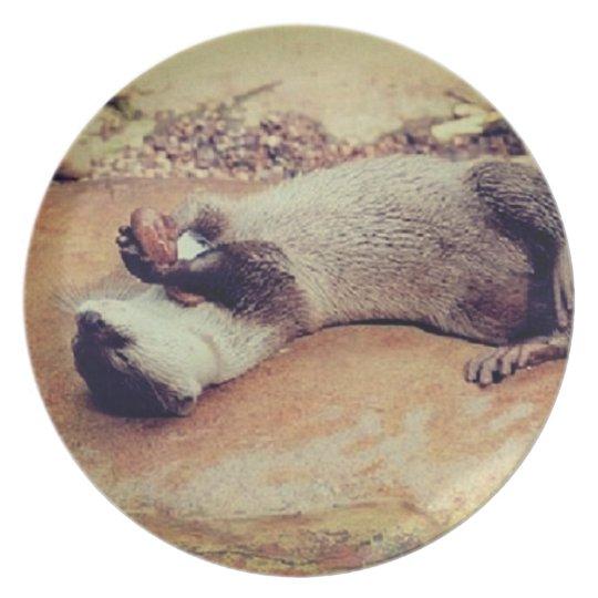 Join me Otter Dinner plate