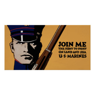 Join Me ~ US Marines Posters