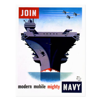 Join Modern Mobile Mighty Navy – Join the Navy Postcard