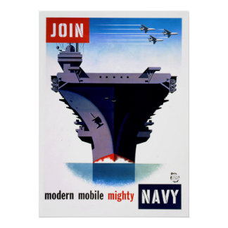 Join Modern Mobile Mighty Navy – Join the Navy Poster