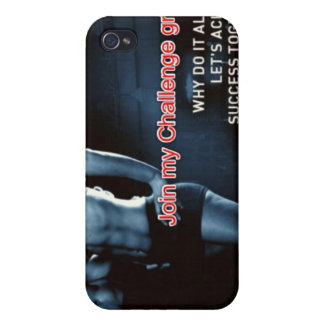 Join my Challenge Group Cases For iPhone 4