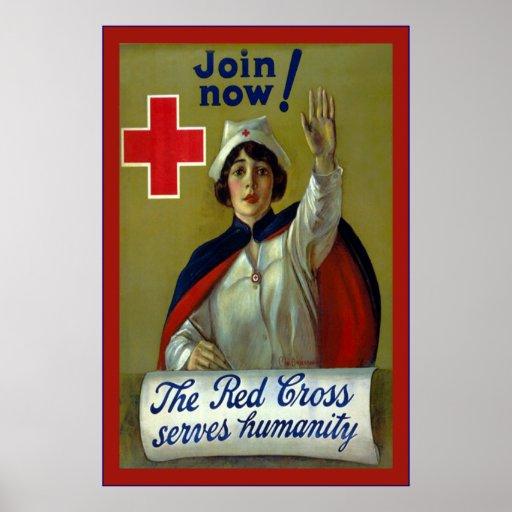 vintage prints of nursing