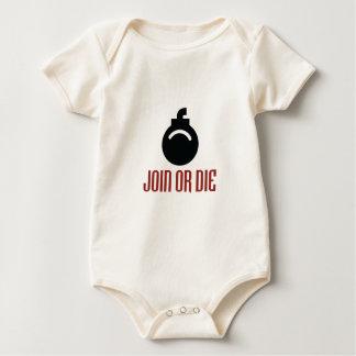 JOIN-OR-DIE BABY BODYSUIT