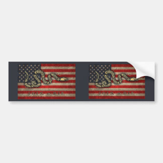 Join, Or Die -Flag Bumper Sticker