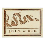 Join or Die Print