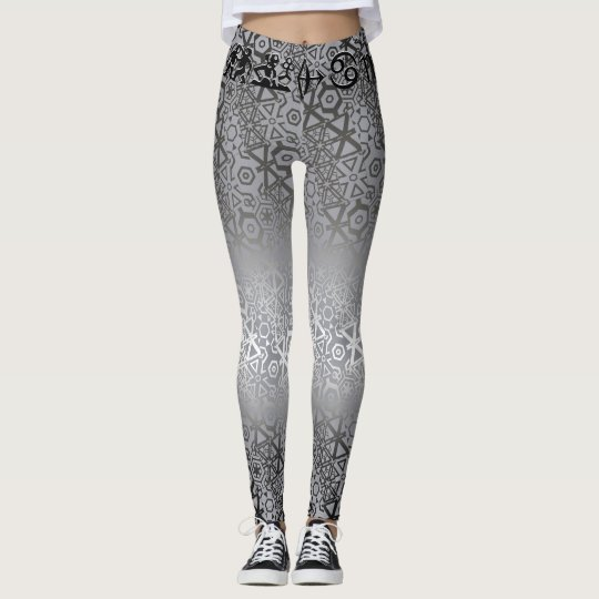 Join or Die Shiny Silver Leggings