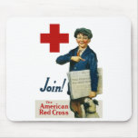 Join The American Red Cross Mouse Pad