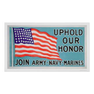 Join the Army, Navy, Marines (US02081) Poster