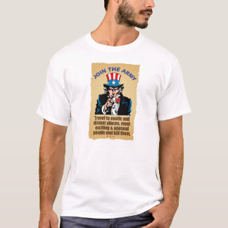 Join the Army - Uncle Sam T-Shirt