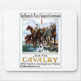 Join the Cavalry Mousepad