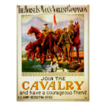 Join the Cavalry - War Horse Poster