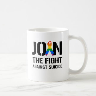 Join the fight against gay suicide coffee mugs