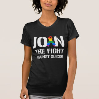 Join the fight against LGBT suicide Tee Shirts