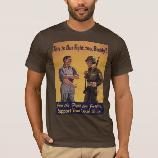 Join the Fight For Justice Pro-Union T-Shirt
