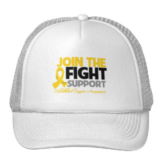 Join The Fight Support Childhood Cancer Awareness Cap