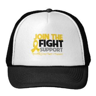 Join The Fight Support Neuroblastoma Awareness Trucker Hat