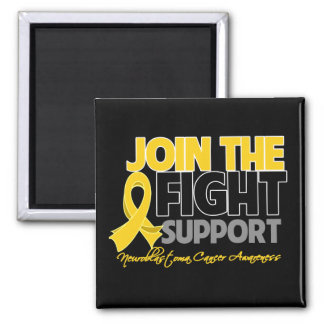 Join The Fight Support Neuroblastoma Awareness Refrigerator Magnets