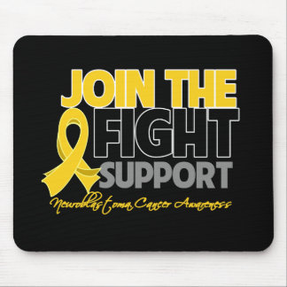 Join The Fight Support Neuroblastoma Awareness Mousepads
