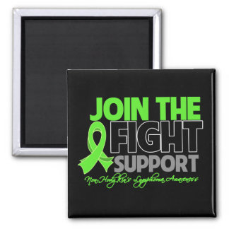 Join The Fight Support Non-Hodgkin's Lymphoma Square Magnet