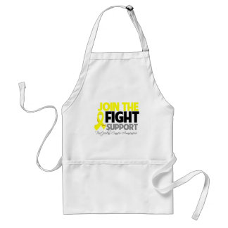 Join The Fight Support Testicular Cancer Awareness Adult Apron