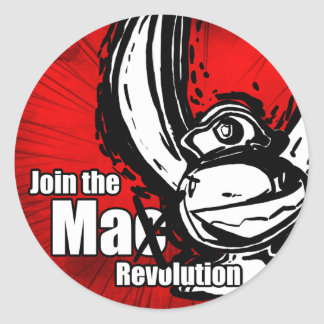 Join the MaX Revolution Stickers