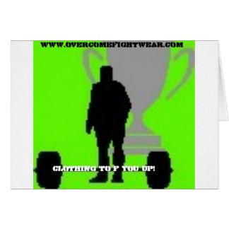 join the militia promo greeting card