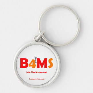 Join The Movement Burpees 4 MS Key Chains