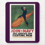 Join the Navy Mouse Pad