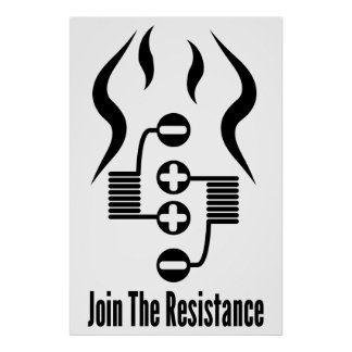 """Join The Resistance 24"""" x 36"""" Poster"""