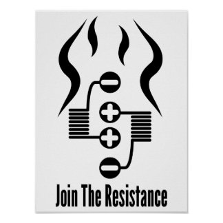 Join The Resistance Poster