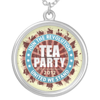 Join The Revolution 2012 Round Pendant Necklace