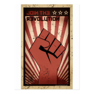 Join the Revolution Postcard