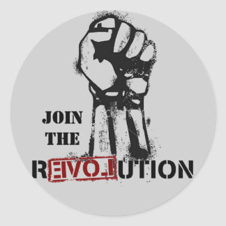Join The Revolution Sticker