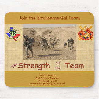 ...Join the Team Mouse Mat