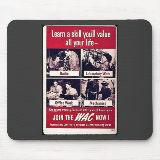 Join The Wac Now Mousepad
