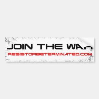 Join the War Bumper Sticker