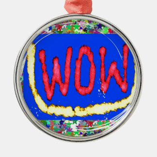 Join the WOW factor party:  Gift one to self Christmas Tree Ornament