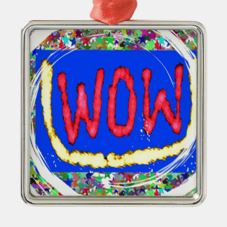 Join the WOW factor party:  Gift one to self Christmas Ornaments