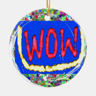 Join the WOW factor party:  Gift one to self Christmas Tree Ornaments