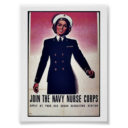 Join Tht Navy Nurse Corps Poster