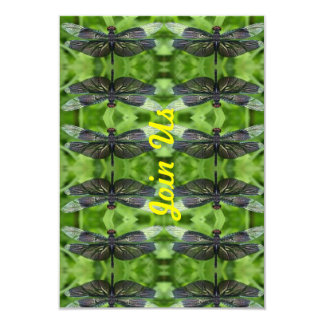 Join Us Dragonflies Card