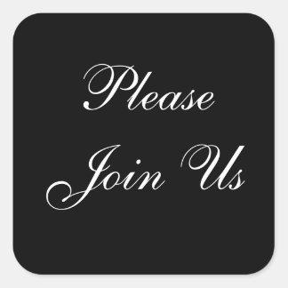 Join Us Envelope Sticker