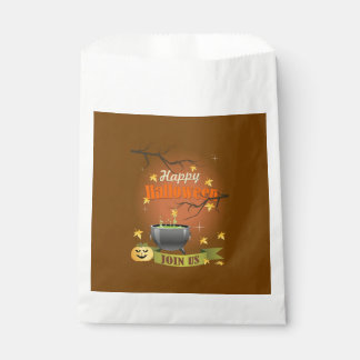 Join Us Halloween Favor Bags
