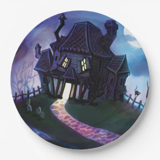 Join Us If You Dare Halloween Party Paper Plates