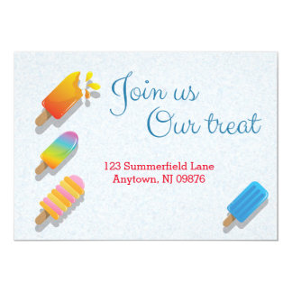 Join Us Our Treat Card