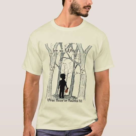Join us Willy colour with Rifftrax beneathe T-Shirt