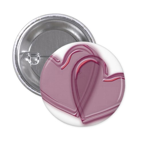 Joined Hearts Buttons