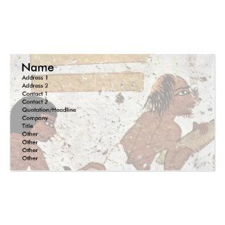 Joiner By Maler Der Grabkammer Der Bildhauer Nebam Double-Sided Standard Business Cards (Pack Of 100)